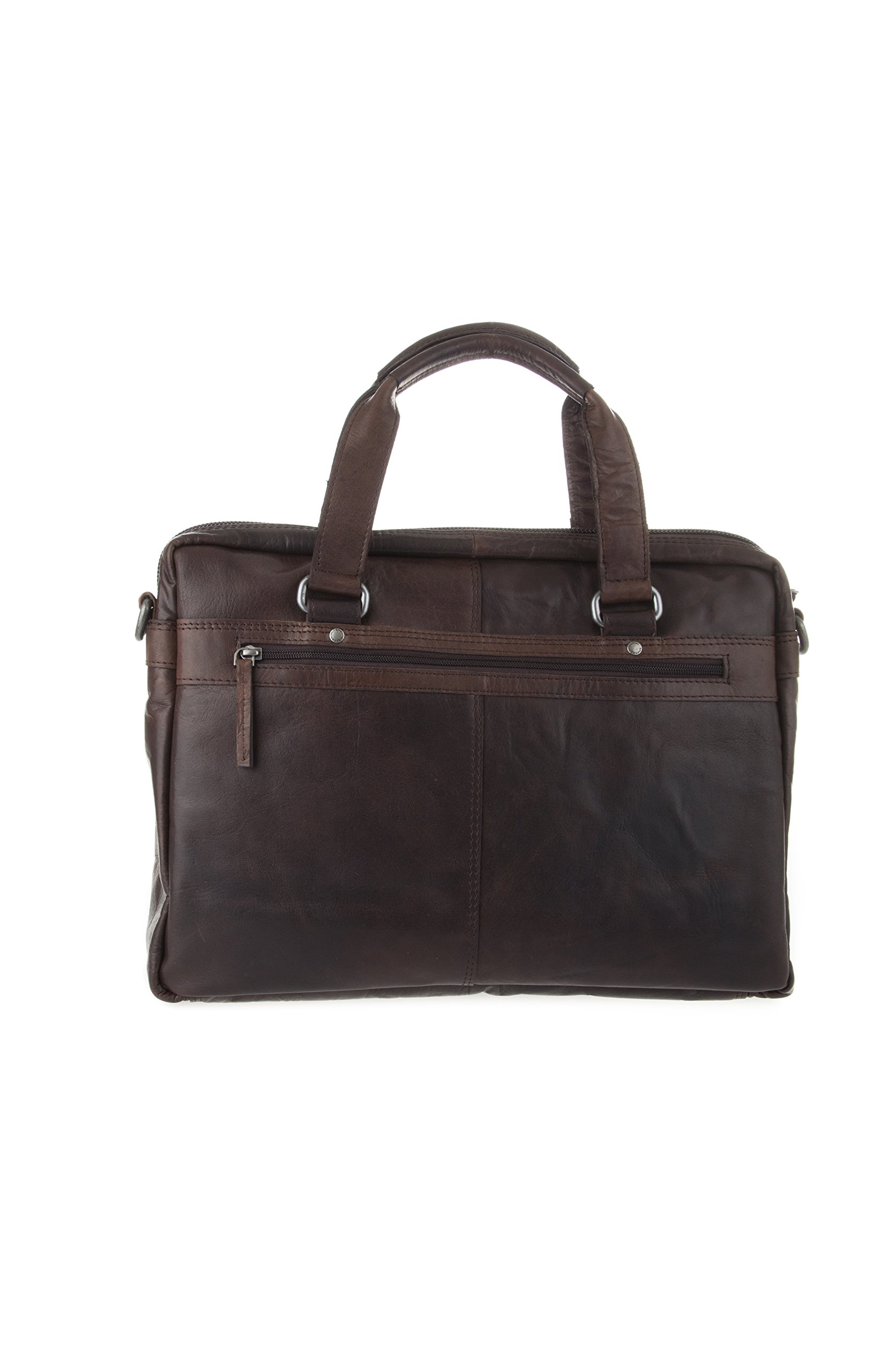 Spikes and Sparrow 7000301 Marshall Business Bag, Dark Brown