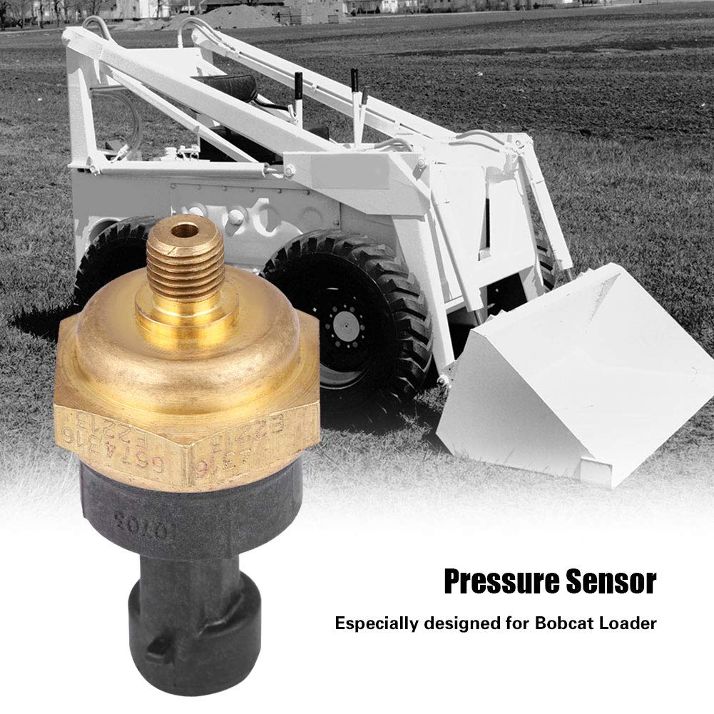 Sensore Pressione Olio 6674316 Sensore Pression di Alta Qualit/à per Caricatore Bobcat per Carburante Olio