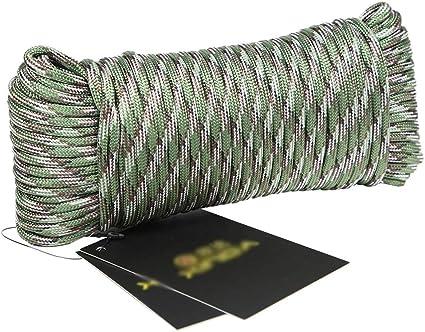 Rope Cuerda de Escalada Exterior de -4 mm de diámetro ...