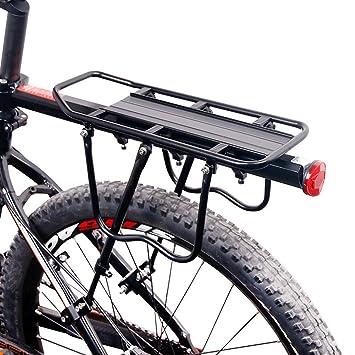 Estantes traseros de bicicleta,EverFabulous aleación de ...