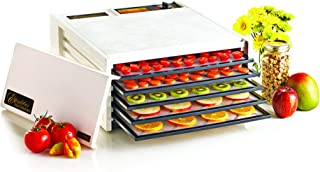 product image for Excalibur Black Door Electric Food Dehydrator, 5-Tray, White (Discontinued by), Medium