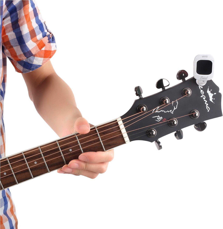 Afinador Electrónico Para Guitarra, Afinador Digital de Ukelele ...
