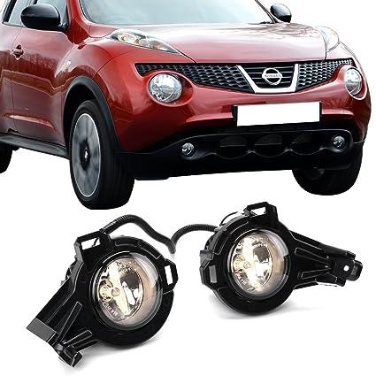 Amazon com: Fog Lights Fits 2011-2014 Nissan Juke | Factory
