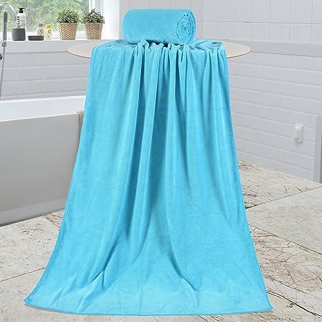 Sin marca 8 piezas Juego de toallas, 2 toallas de ducha, 2 toallas de