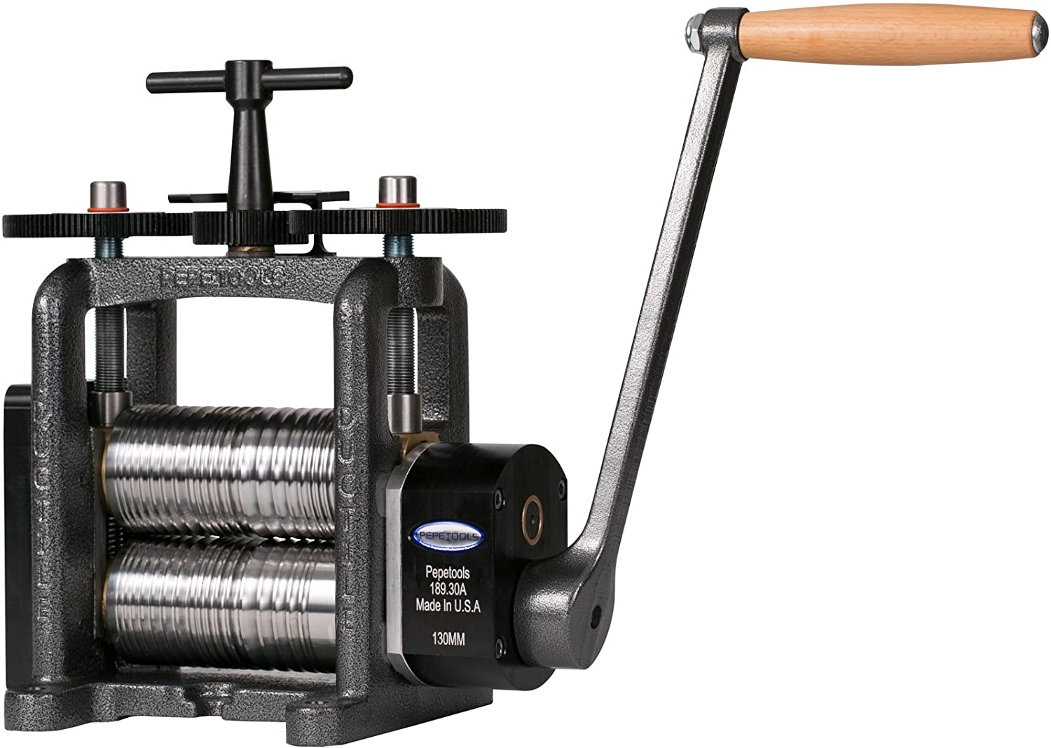 Made in USA PepeTools Fancy Wire Rolling Mill Ultra With 130 mm Wide Rollers