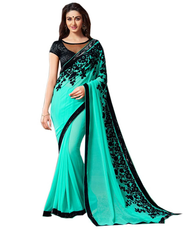 Mahavir Fashion Wedding Festival Fancy Sari Party Wear Ethnic Saree ...
