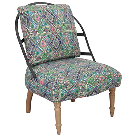 Incredible Amazon Com Accent Chair Fabric Armless Chair With Curved Gmtry Best Dining Table And Chair Ideas Images Gmtryco