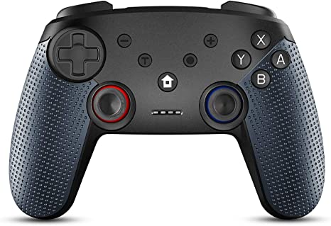 Raniaco Mando Inalámbrico para Nintendo Switch, Wireless Pro Controller Bluetooth Gamepad Con 6-Axis Mandos Controlador Joystick: Amazon.es: Videojuegos