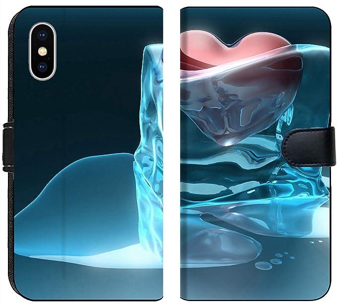 Amazoncom Apple Iphone X Flip Fabric Wallet Case Image Of