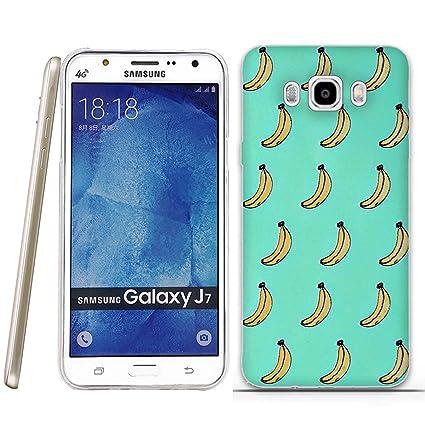 Funda Samsung Galaxy J7(2016)-Fubaoda-Dibujos animados Patrón,Fina,Flexible,Resistente a los arañazos en su parte trasera,Amortigua los golpes,funda ...