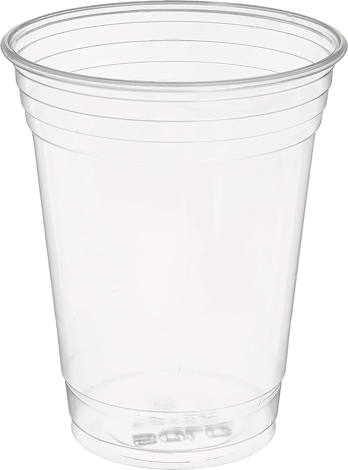 SOLO Cup Company TP16D-1 Solo TP16D 16 oz Plastic Ultra Clear Cold Drink Cup (1 Pack of 50), 1 Sleeve of 50