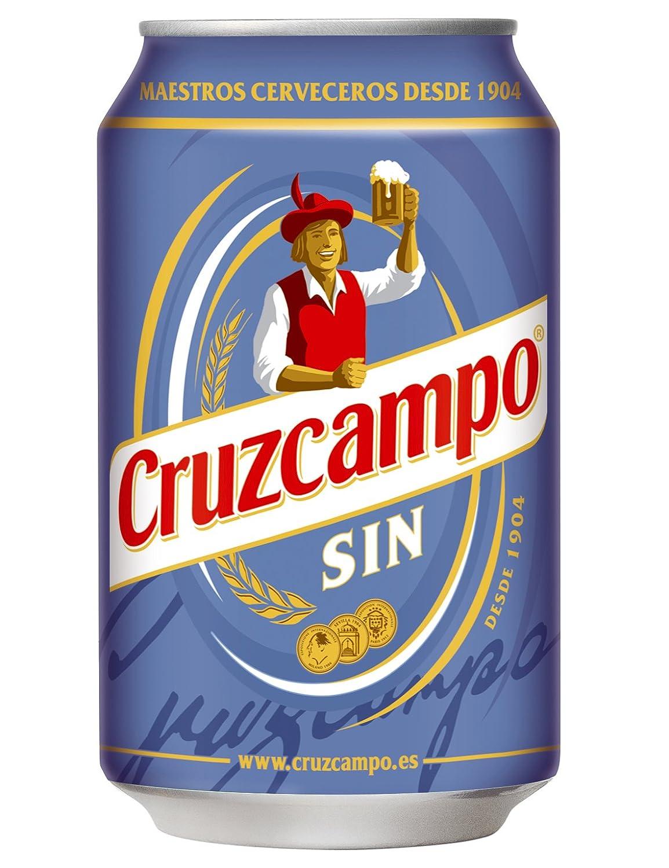 Cruzcampo - Cerveza Sin Lata 33 cl (1 unidad)