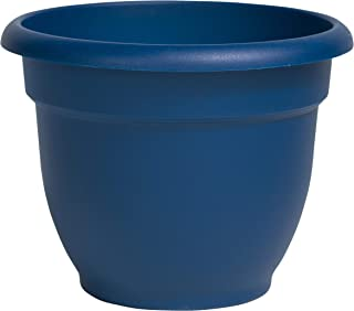 "product image for Bloem Ariana Self Watering Planter, 10"", Deep Sea (AP1031), Inch"