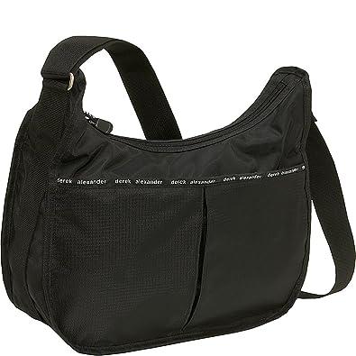 8aa2914edb3b Derek Alexander Hobo Style Bag With Organizer