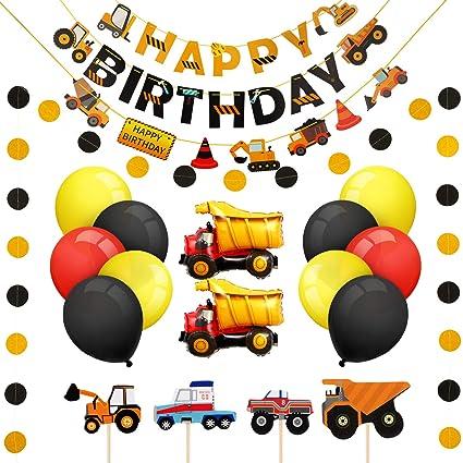 Amazon.com: Suministros de construcción para cumpleaños ...