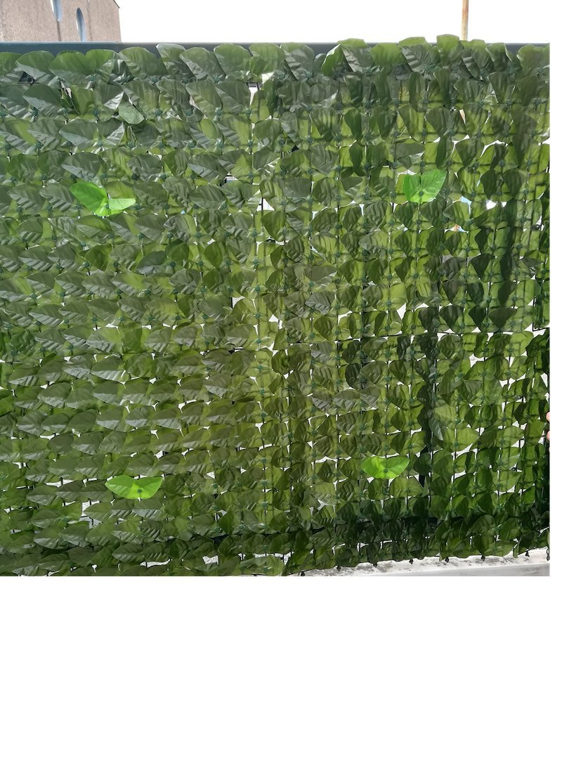 Artificial hedge for balcony enclosure railing garden in roll of 1x3mt 3 mq amazon co uk garden outdoors