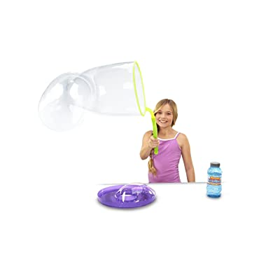 Gazillion Incredibubble Wand GIANT Bubbles Wand with GIANT Bubble Solution: Toys & Games