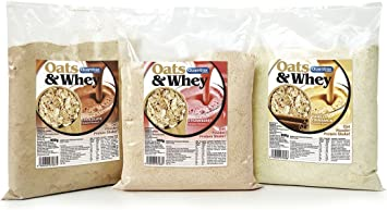 Oats & Whey (Avena con proteína) 900 g - Chocolate: Amazon.es ...