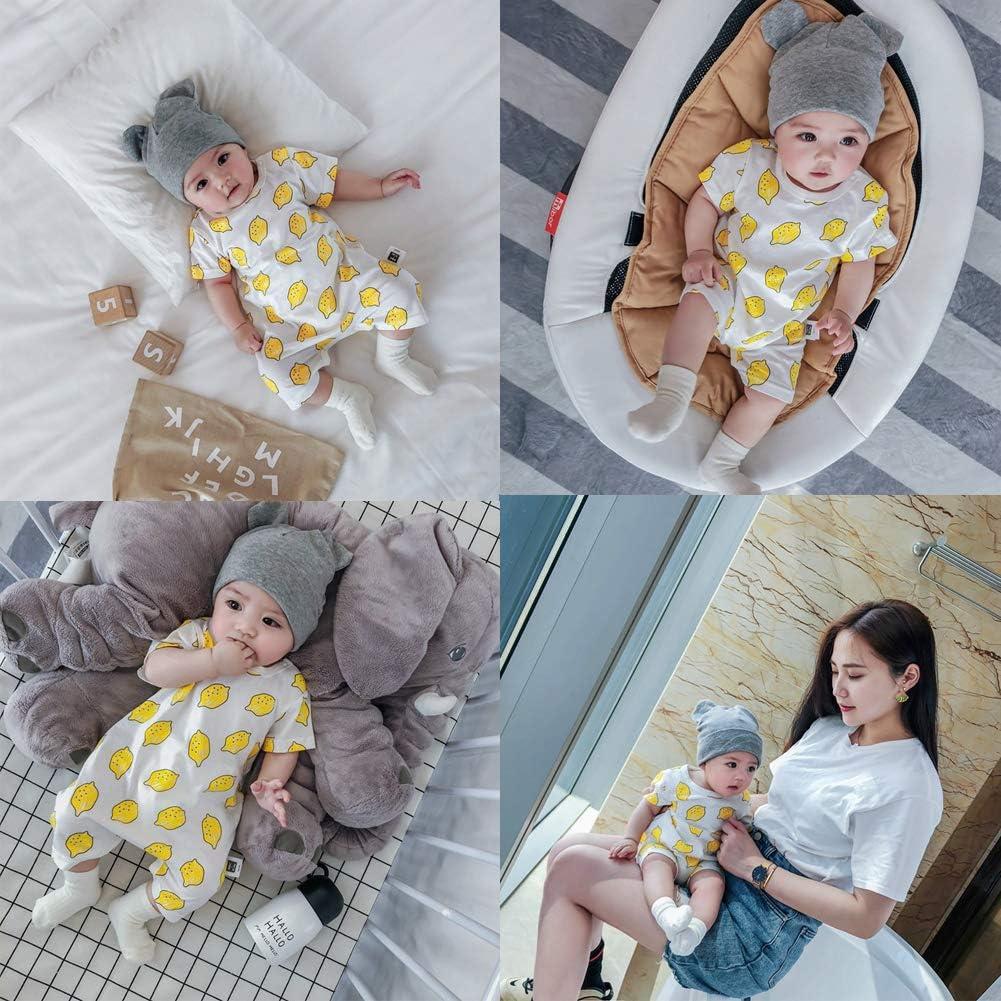 Ropa Bebe Ni/ño Verano Monos Reci/én Nacido Unisex Manga Corta Mono Conjuntos para Ni/ño Ni/ña Pantalones Cortos Bebe Monos Mameluco Tops