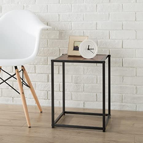 Gentil Zinus Modern Studio Collection Classic Cube Side Table/End Table/Night  Stand/Coffee