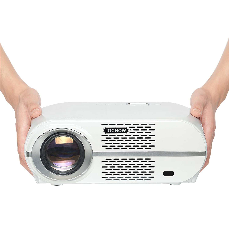 iOCHOW iO6 Proyector, Soporta 1080P, 3200 Lumens LED, 30000 ...