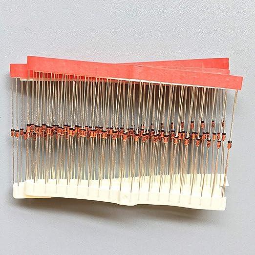 Amazon.com: DYDZYJ 100pcs BZX55C3V6 1/2W 3V6 0.5W Zener diode: Computers & Accessories