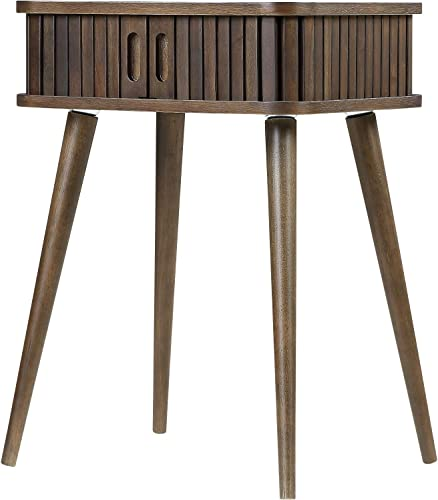 Home to Office Solutions Zion Mid Century Modern Living Room End Table