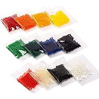 12 colores de perlas de gel de agua