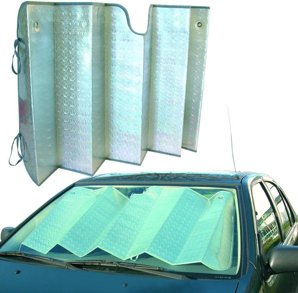 Carpoint 2610056 Sonnenschutz 145 X 70cm Alu Faltbar Vorder Auto