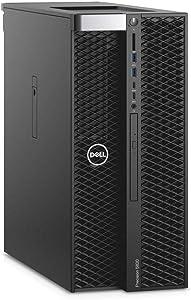 Dell Precision T5820 Workstation Intel Core X Series i7-9800X 8-Core 3.80GHz Processor 64GB DDR4-2666MHz Memory 1TB NVMe PCIe SSD 4TB 7200RPM HDD AMD Radeon RX580 8GB Windows 10 Pro