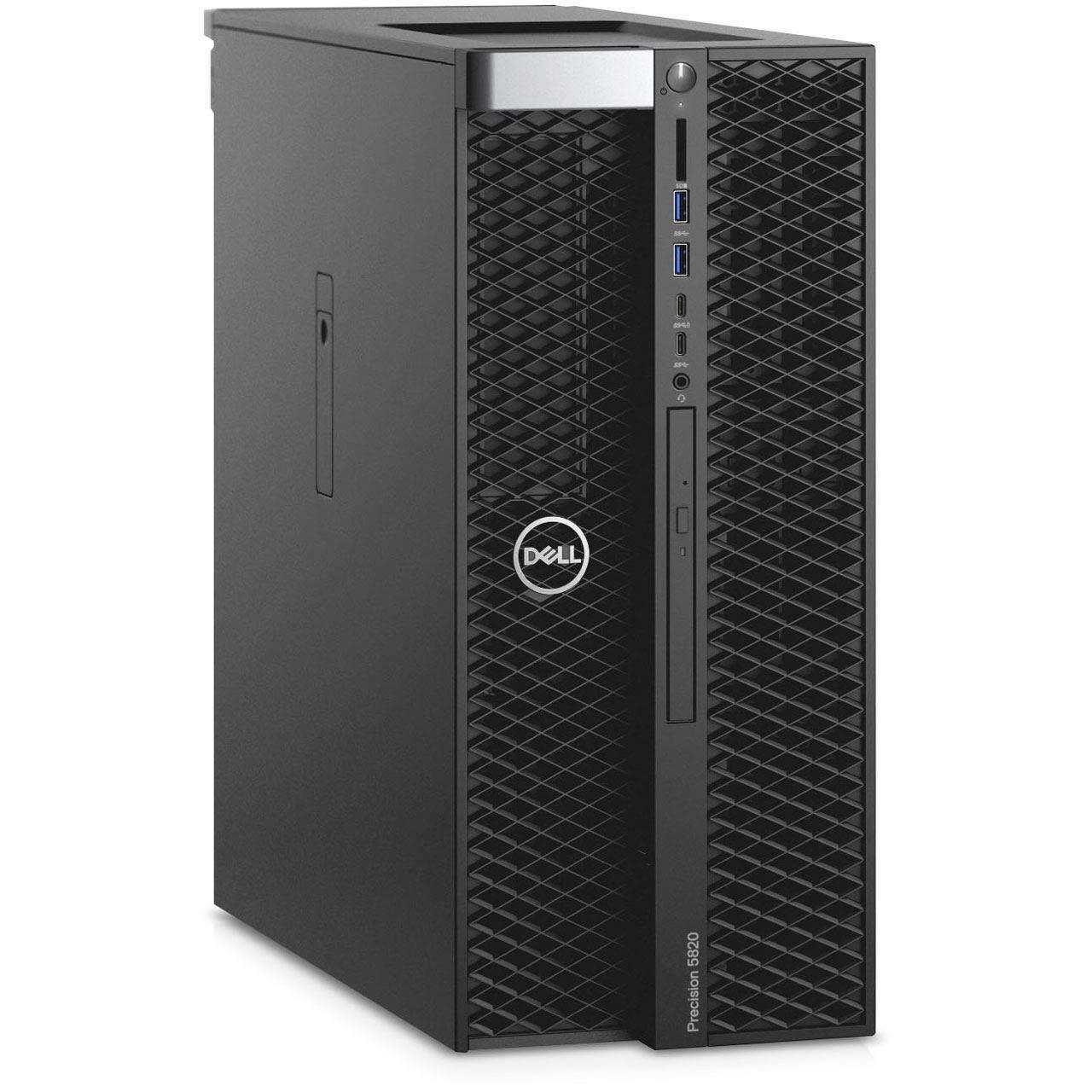 Dell Precision T5820 Intel Xeon W-2102 X4 2.9GHz 16GB 256GB SSD Win10,Black(Renewed)