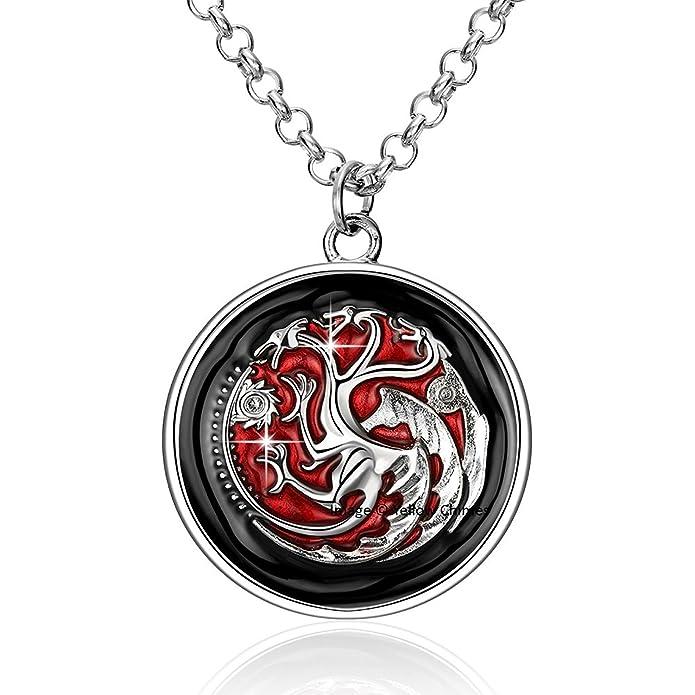 Desconocido Game of Thrones Targaryen 3 - Collar con ...