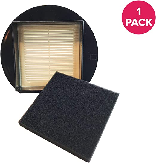 Think Crucial 2 Replacement for Dirt Devil F13 HEPA Style Filter /& Foam Pre-filter Compatible With Part # 3LK0540001 Washable /& Reusable