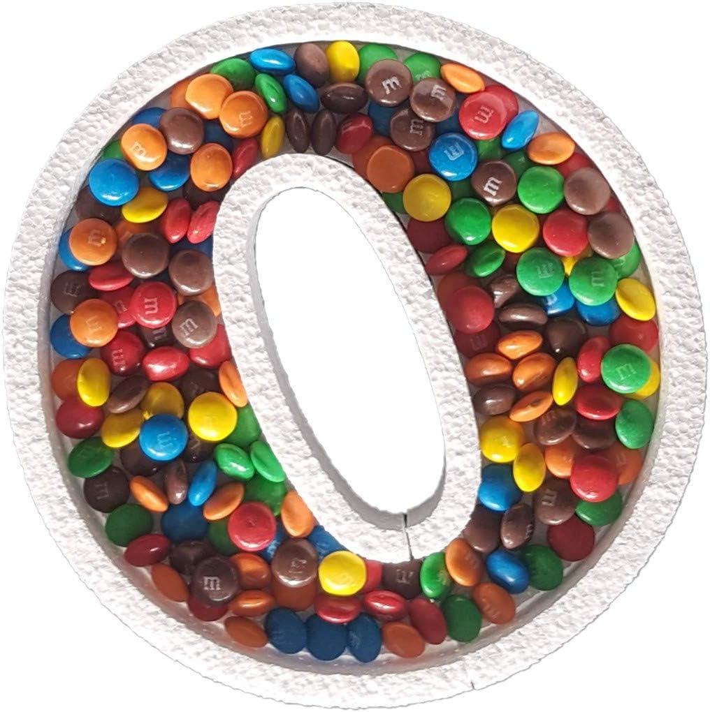 per caramelle DecoPorex in polistirolo Numero 3 20 cm di altezza x 2 cm di profondit/à