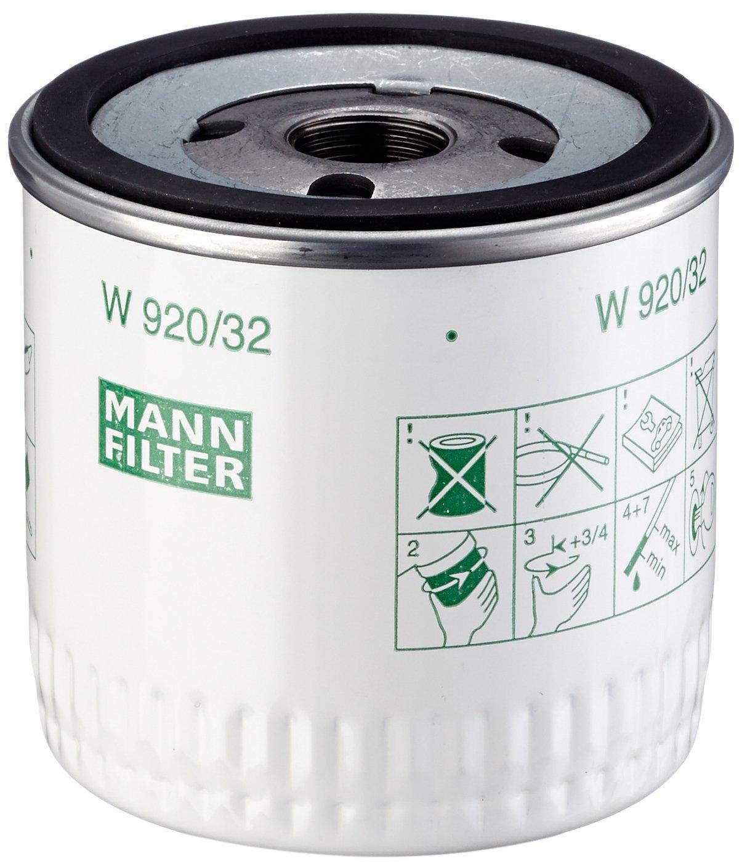 Mann Filter W 920/32 Filtro de Aceite - descontinuado por el fabricante: Amazon.es: Coche y moto