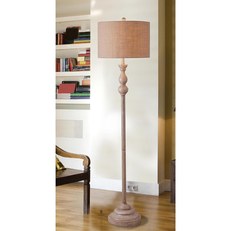 Kenroy Home 32237TA Bennett Floor Lamp, Toasted Almond Finish, 59\