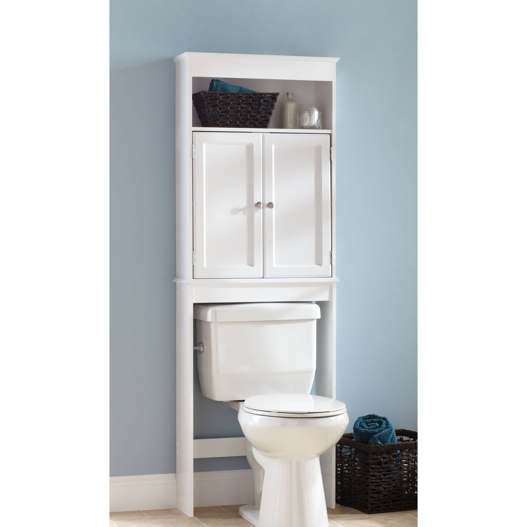 Hawthorne Place Wood Space Saver, White
