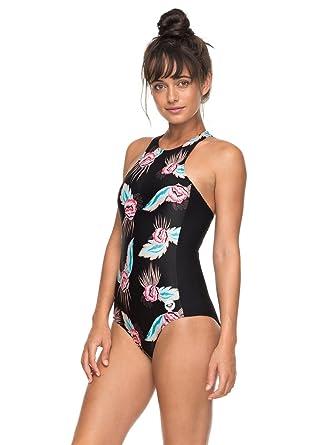 2c1ba6b34e Roxy Fitness - Maillot de Bain Une pièce pour Femme ERJX103110: Roxy ...