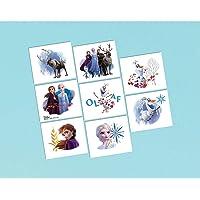 Amscan Disney Frozen 2 Tattoo 8 Pieces
