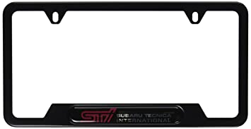 genuine subaru soa342l126 license plate frame