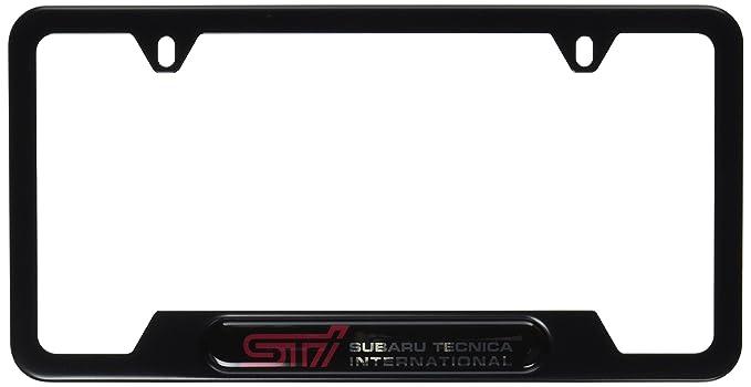 Amazon.com: Genuine Subaru SOA342L126 License Plate Frame: Automotive