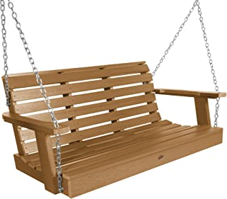 product image for Highwood AD-PORW2-TFE Weatherly Porch Swing, 4 Feet, Toffee