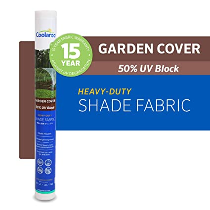 Amazon.com: Coolaroo 457945 - Tela para sombra (color blanco ...