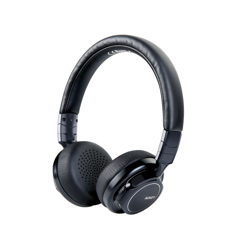 AUKEY Cuffie Bluetooth, Auricolari Wireless con Basso Profondo