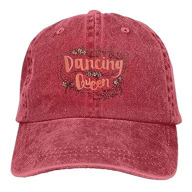 Dancing Queen - Gorra de béisbol Unisex, Lavada, Ajustable ...