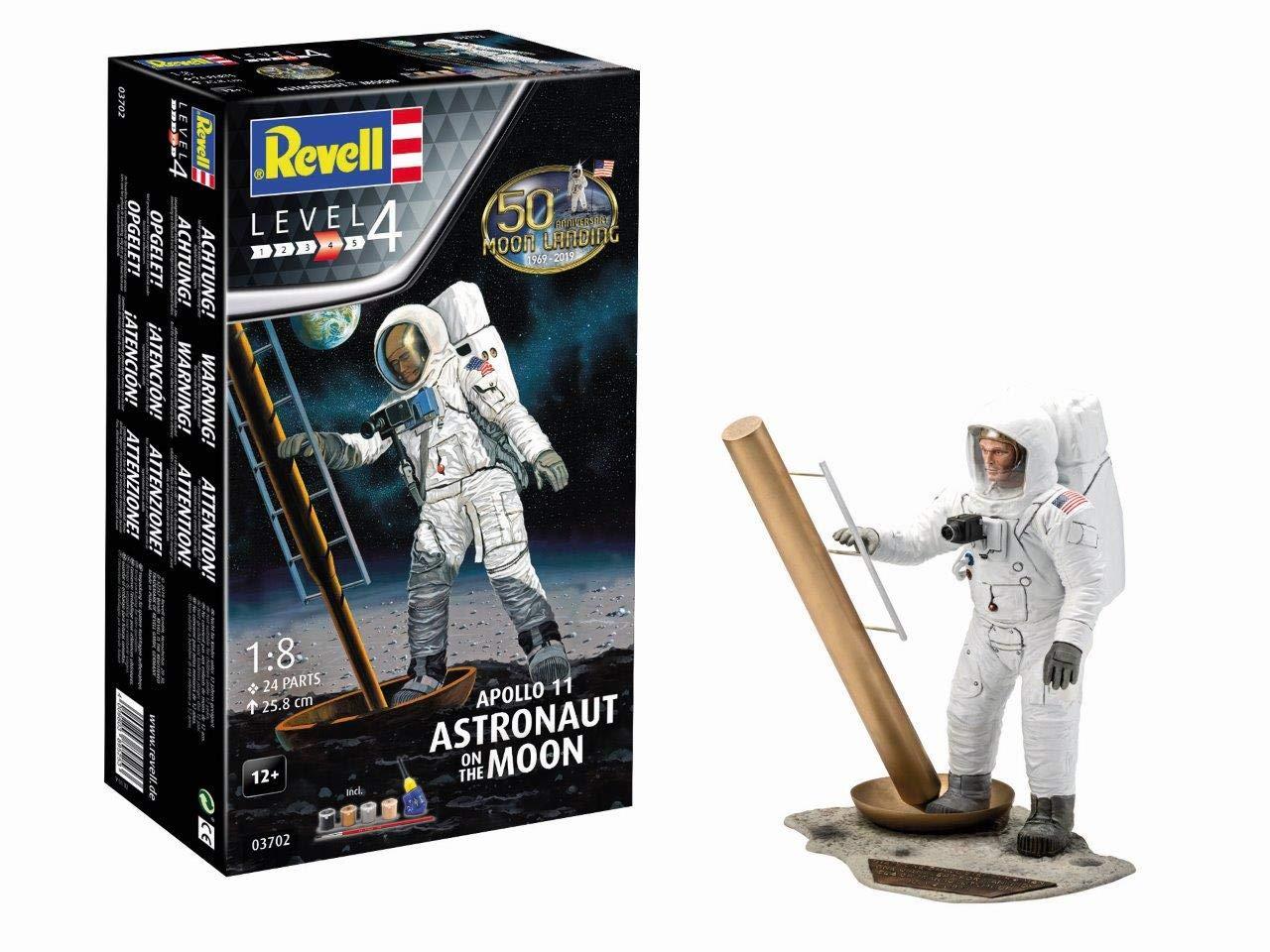 Revell- Maquette Coffret Cadeau 50 Ans Apollo 11 Astronaute