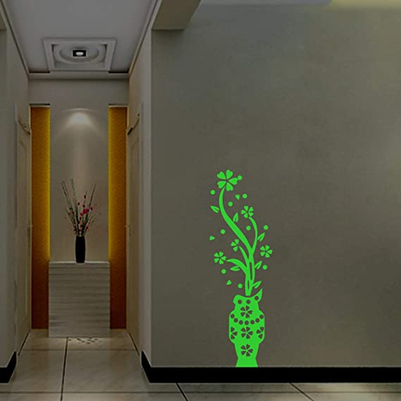 Buy Dreamkraft Glow In The Dark Home Decor Radium Sticker Green 17x20 Cm Online At Low Prices In India Amazon In