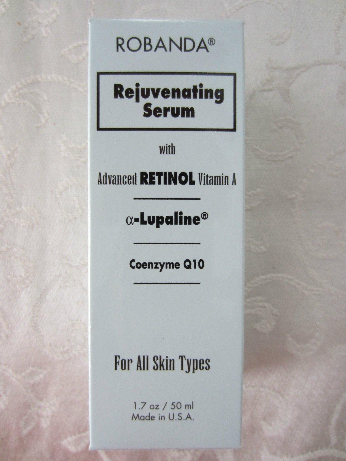 Retinol by Robanda Rejuvenating Serum, 1.7 Ounce