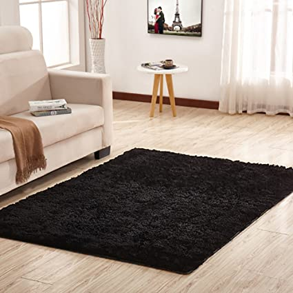 Noahas Super Soft Modern Shag Area Rugs Fluffy Living Room Carpet Comfy  Bedroom Home Decorate Floor