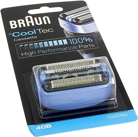Braun CoolTec 40B - Cuchilla de Repuesto para afeitadora: Amazon ...